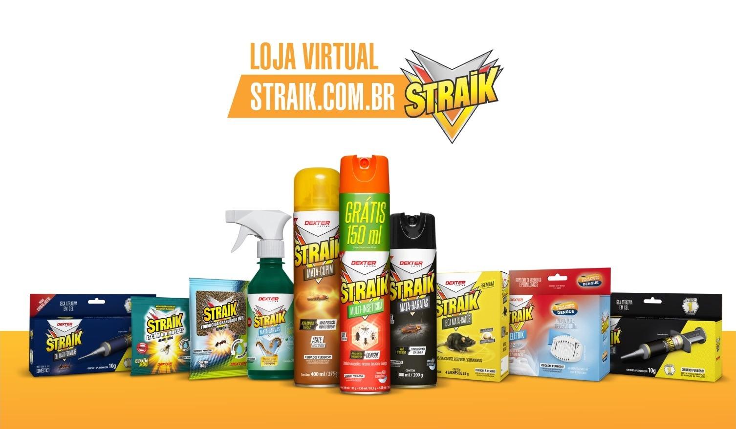 Loja Virtual Straik - Destaque