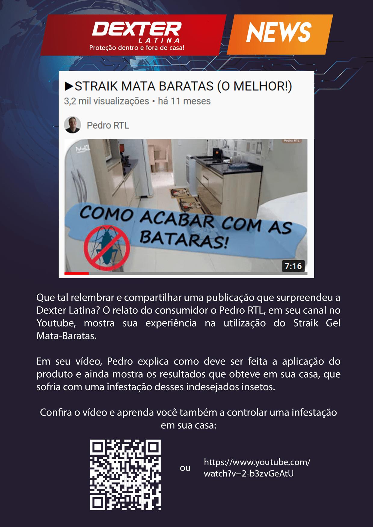 STRAIK MATA-BARATAS O MELHOR tutorial como-acabar-com-as-baratas