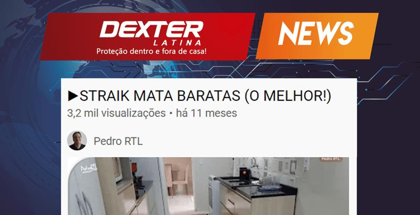 STRAIK MATA-BARATAS, O MELHOR
