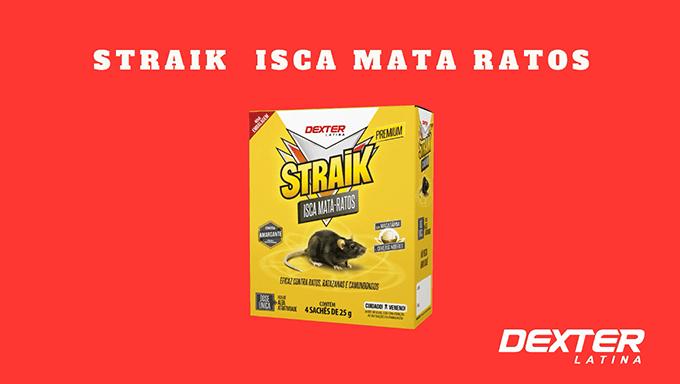 STRAIK ISCA MATA-RATOS DEXTER-LATINA